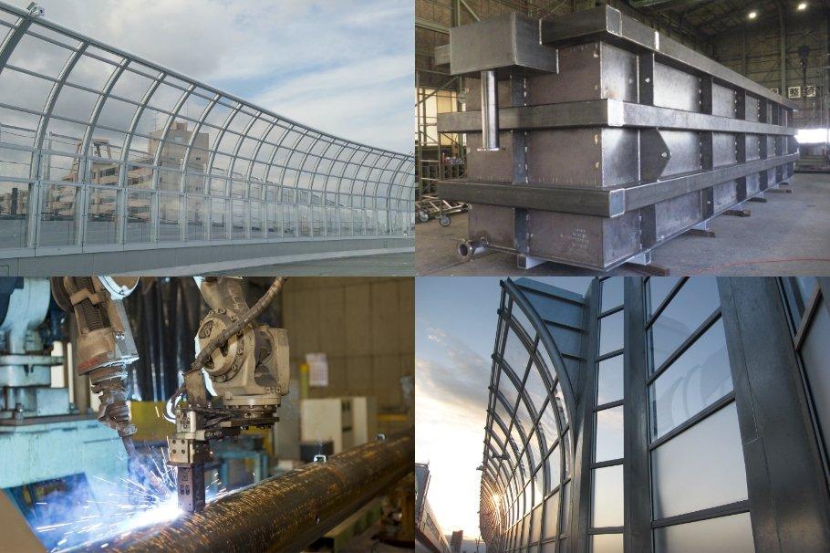 鋼構造物製作