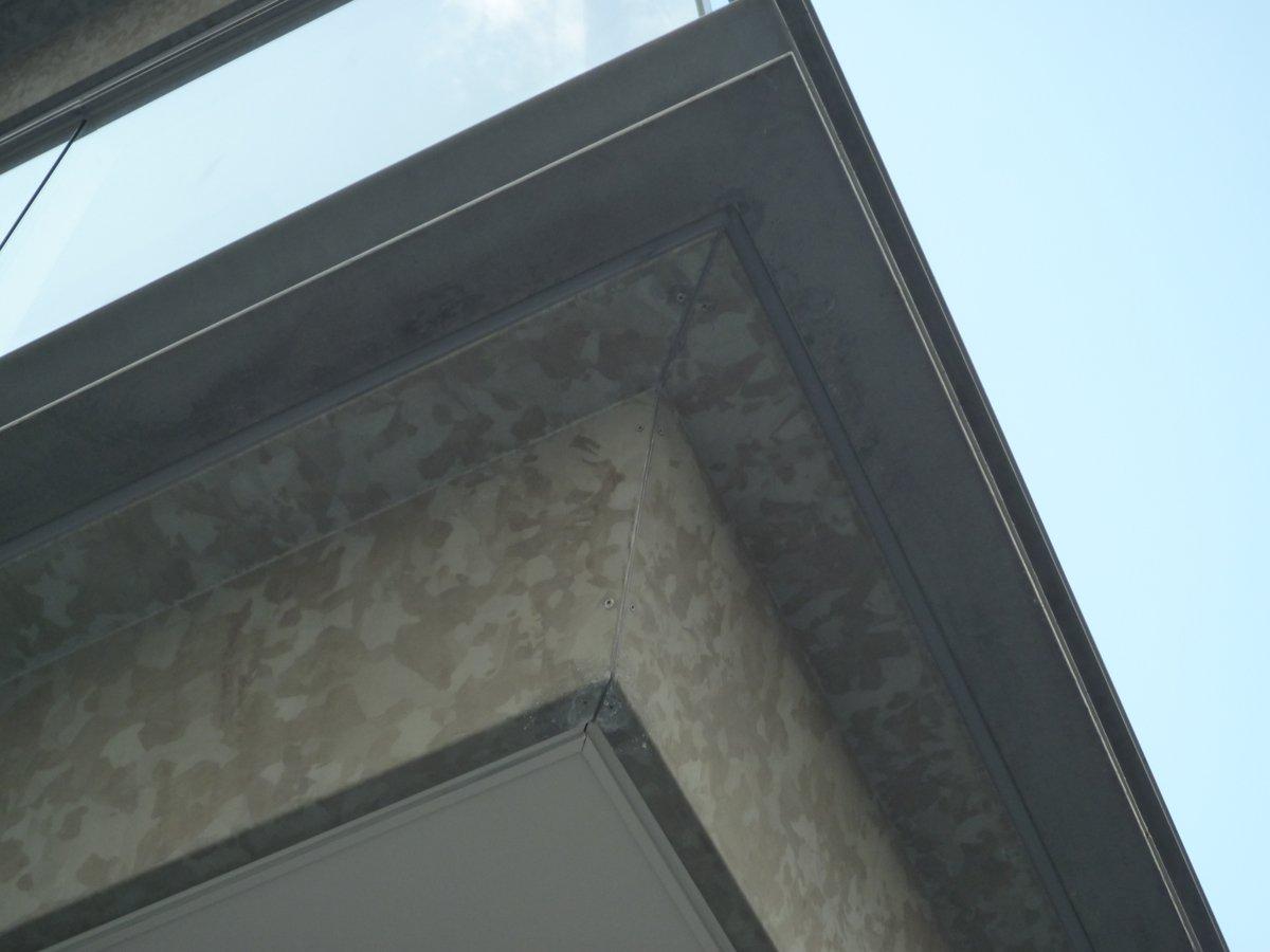 庇、外壁パネル(N3.5、N6併用)